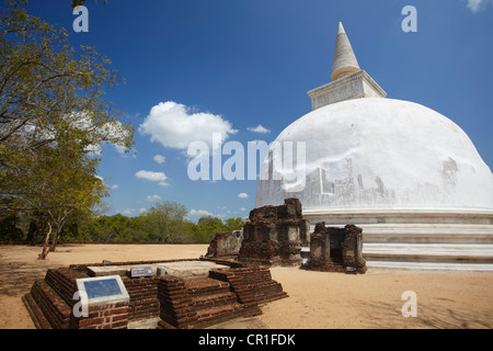 Kiri Vihara, Polonnaruwa (UNESCO Weltkulturerbe), North Central Province, Sri Lanka - Stockfoto