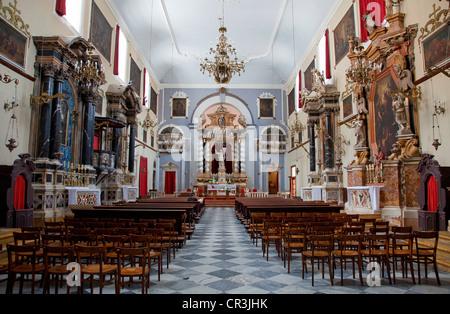 Kroatien, Dalmatien, dalmatinische Küste, Dubrovnik Altstadt UNESCO-Weltkulturerbe, Franziskanerkirche - Stockfoto