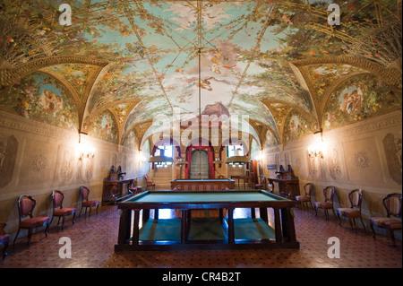 Italien, Toskana, Florenz, Poggio a Caiano Medici-Villa, lounge - Stockfoto