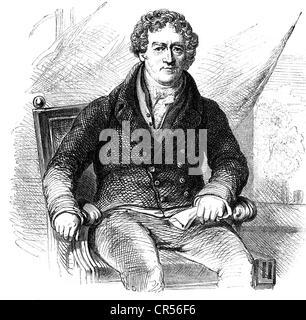 Peel, Robert, 5.2.8 - 2.7.1850, britischer Politiker (Tory), Premierminister 1834 / 1834 und 1834 - 184, 55-2, halbe - Stockfoto
