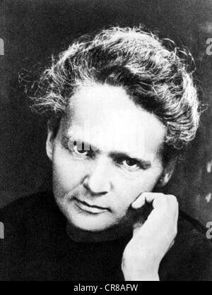 Curie, Marie, 7.11.1867 - 4.7. 1934, französischer Chemiker und Physiker Polnisch anständig, Porträt, Anfang des - Stockfoto