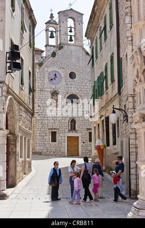 Barbara Kirche in Sibenik, Mitteldalmatien, Dalmatien, Adria Küste, Kroatien, Europa, PublicGround - Stockfoto