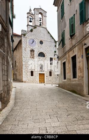 Barbara-Kirche in Sibenik, Zentral Dalmatien, Adriaküste, Europa, PublicGround - Stockfoto