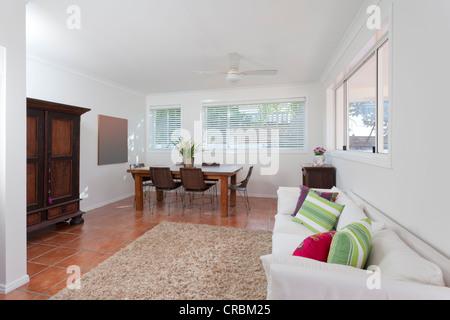 Wunderbar ... Modernes Wohnzimmer In Australischen Herrenhaus   Stockfoto