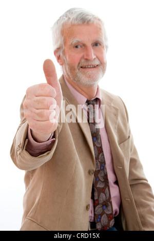 ältere, erfolgreich Geschäftsmann - Stockfoto