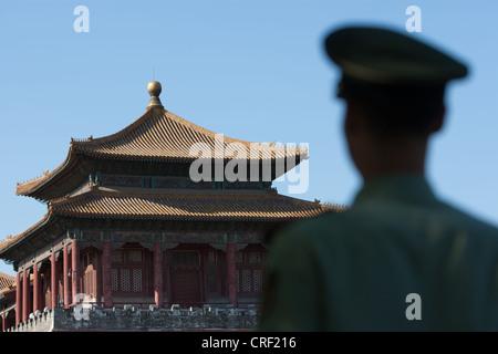 Die Verbotene Stadt in Peking, China