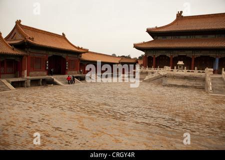 Verbotene Stadt in Peking, China, Asien - Stockfoto