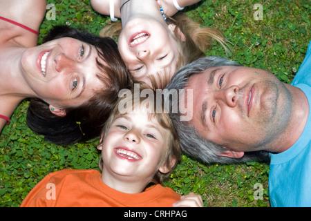 Familienbild - Stockfoto