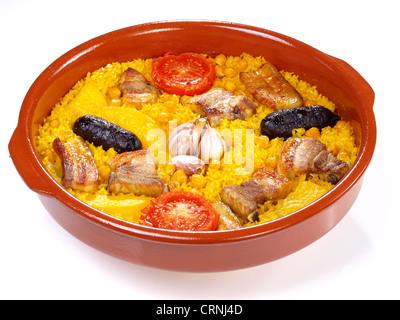 Arroz al Horno – Ofen gekochtem Reis