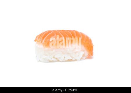 einem k stlichen frischen wei en fisch sashimi mit wasabi paste japanische soja und seetang. Black Bedroom Furniture Sets. Home Design Ideas
