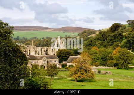 Bolton Abbey, North Yorkshire Dales - Stockfoto