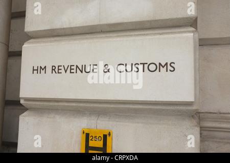 HM Revenue and Customs, 100 Parlament Street, London SW1A 2BQ UK - Stockfoto