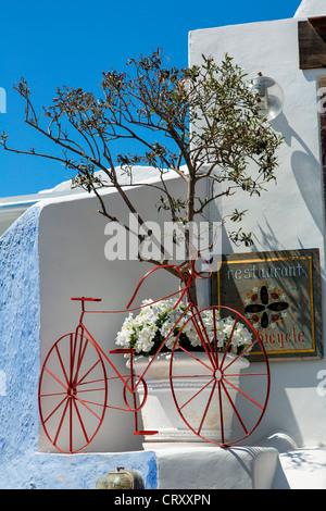 Santorini Oia, - Stockfoto