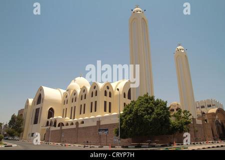 Erzengel Michael koptische orthodoxe Kathedrale in Assuan, Ägypten - Stockfoto