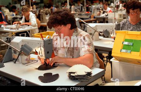 WALDI Schuhfabrik in Haßfurt am Main Stockfoto, Bild: 49195617 - Alamy