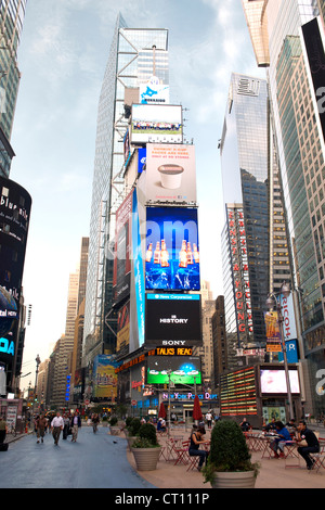 Times Square in Manhattan, New York City, USA. - Stockfoto