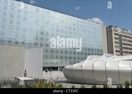 Institut du Monde Arabe, Paris - Stockfoto