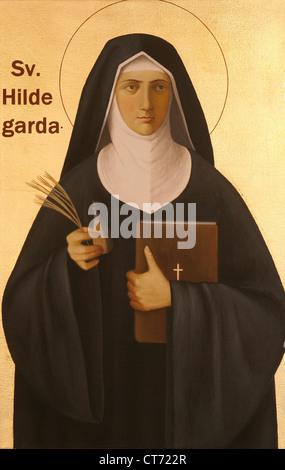 Heilige Hildegard von Bingen - Stockfoto
