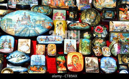 souvenir markt in st petersburg russland stockfoto bild 71687886 alamy. Black Bedroom Furniture Sets. Home Design Ideas