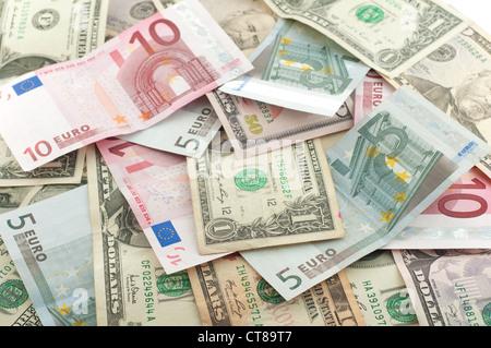 Umwandlung Dollar Euro