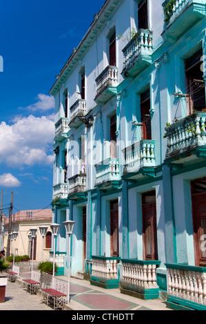 Kolonialen Gebäuden, Santa Clara, Kuba - Stockfoto