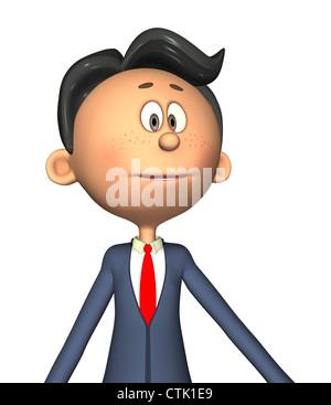 Cartoon Figur Fotograf Serie Lehrer - Stockfoto