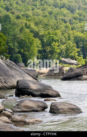Felsschlucht des Cumberland River in Kentucky, USA - Stockfoto