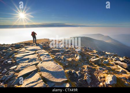 Babia Gora Nationalpark, Polen, Europa - Stockfoto