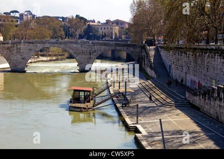 Cestio Brücke, Rom, Italien, EU - Stockfoto