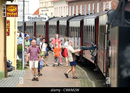 Bad Doberan Baederbahn Molli Bahnhof Innenstadt