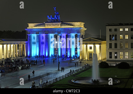 Brandenburger Tor, Brandeburger Tor bei Paris Platz, Pariser Platz, Deutschland, Berlin - Stockfoto