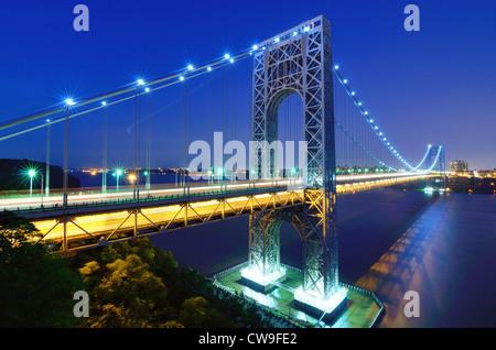 George-Washington-Brücke. - Stockfoto