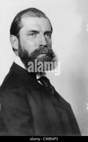 Charles Evans Hughes (1862 – 1948), zukünftige Oberrichter des Obersten Gerichtshofs, im Jahre 1904 er eine aktive - Stockfoto
