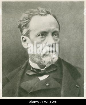 Louis Pasteur (1822-1895), französischer Chemiker und Mikrobiologe. Ca. 1870. - Stockfoto