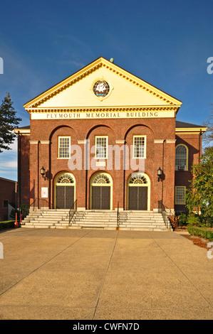 Vereinigte Staaten von Amerika, USA, Neuengland, Massachusetts, Plymouth, Plymouth Memorial Building - Stockfoto
