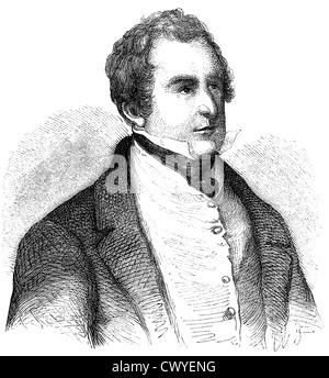 Sir Robert Peel, 1788-1850, 2. Baronet Peel von Clanfield, britischer Politiker, Premierminister und Gründer des - Stockfoto