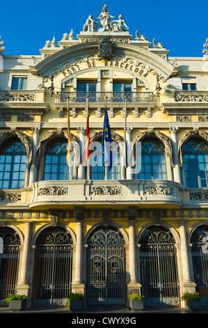 Büro des Hafens von Barcelona Katalonien Spanien ES - Stockfoto