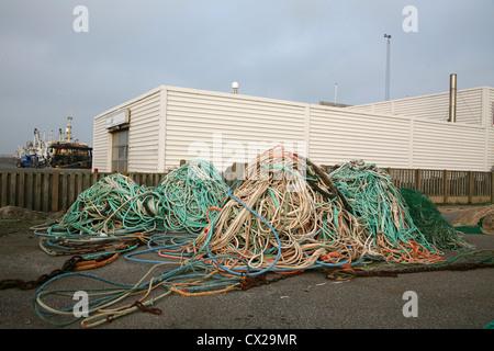 Fischernetze - Stockfoto