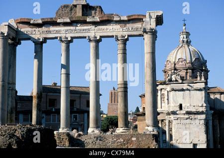 das Forum Rom Italien - Stockfoto