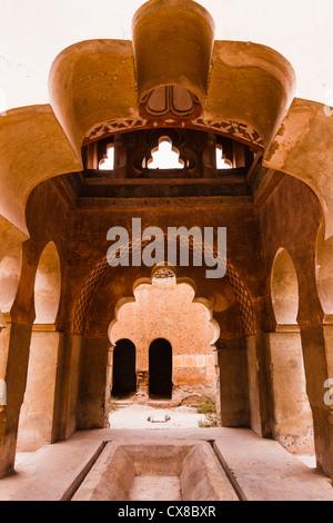 Erbaut im Jahre 1117 ist Almoravid Koubba des el Barudiyin das einzige verbleibende Beispiel der Almoraviden Architektur - Stockfoto