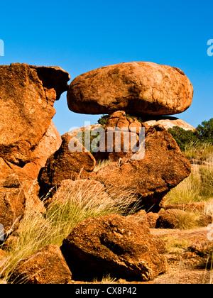 Des Teufels Murmeln, Zentral-Australien, Northern Territory - Stockfoto