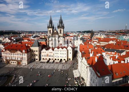 Church of Our Lady vor Tyn (Teynkirche) in der Altstadt (Stare Mesto), Prag, Tschechische Republik, Europa