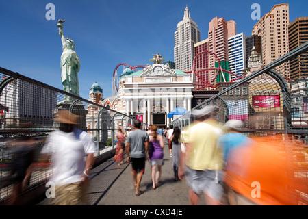Hotels und Kasinos am Strip, Las Vegas, Nevada, Vereinigte Staaten von Amerika, Nordamerika - Stockfoto
