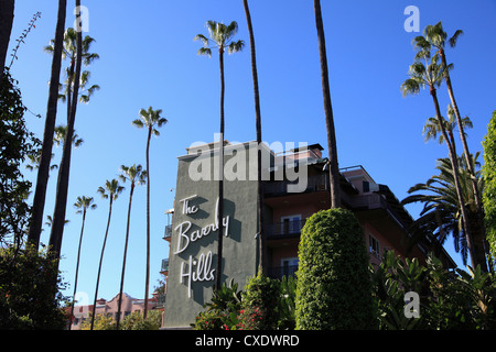 Beverly Hills Hotel, Beverly Hills, Los Angeles, Kalifornien, USA - Stockfoto