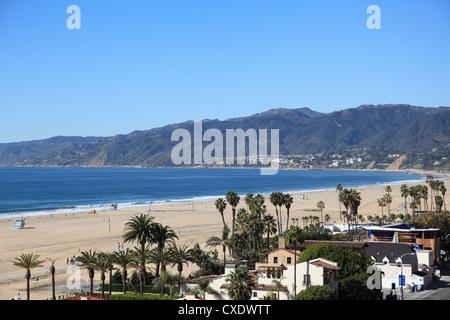 Beach, Santa Monica, Malibu Berge, Los Angeles, Kalifornien, USA - Stockfoto