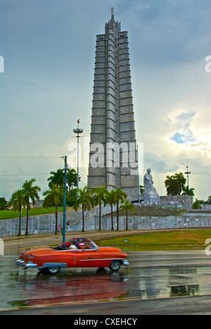 Plaza De La Revolucion in Havanna - Stockfoto
