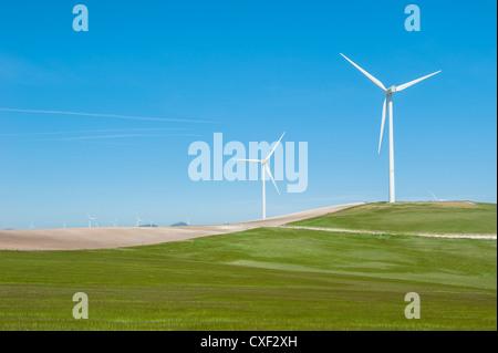 Windkraftanlagen - Stockfoto