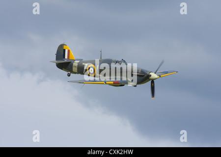 Hawker Sea Hurricane 1 b keine. Z7015, Bulit 1941. Jetzt Teil der Shuttleworth Collection - Stockfoto