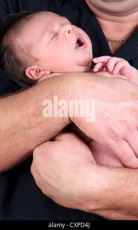 Indische baby boy - Stockfoto
