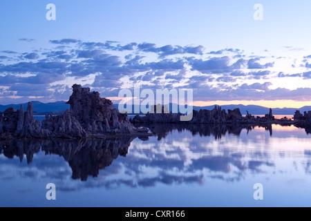 Tuffstein-Rock-Formation, mono Lake, Kalifornien, usa - Stockfoto